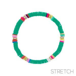 Stretch Bracelet, Green