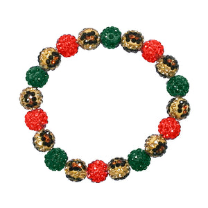 Drop of Glam Bracelet, Christmas and Leopard