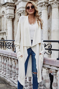 Oversized Cardigan Jacket, Cream