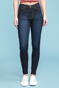 Judy Blue High Waist Skinny Jeans, Dark Blue