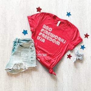 PRE-ORDER BBQ and Fireworks T-Shirt