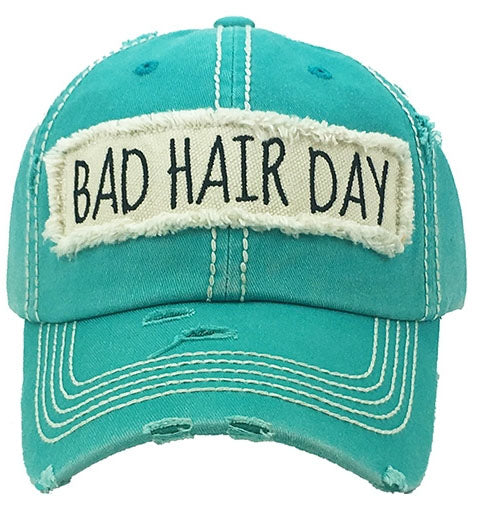 Baseball Cap, Bad Hair Day