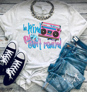 PRE-ORDER Can't Rewind T-Shirt
