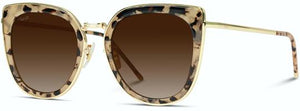 Oversized Cat-Eye Sunglasses, Tortoise