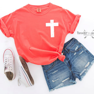 PRE-ORDER Comfort Colors Cross T-Shirt