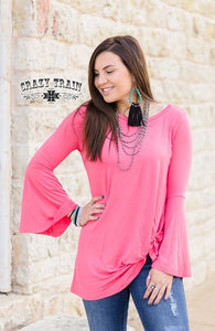 Knot For Long Top, Coral