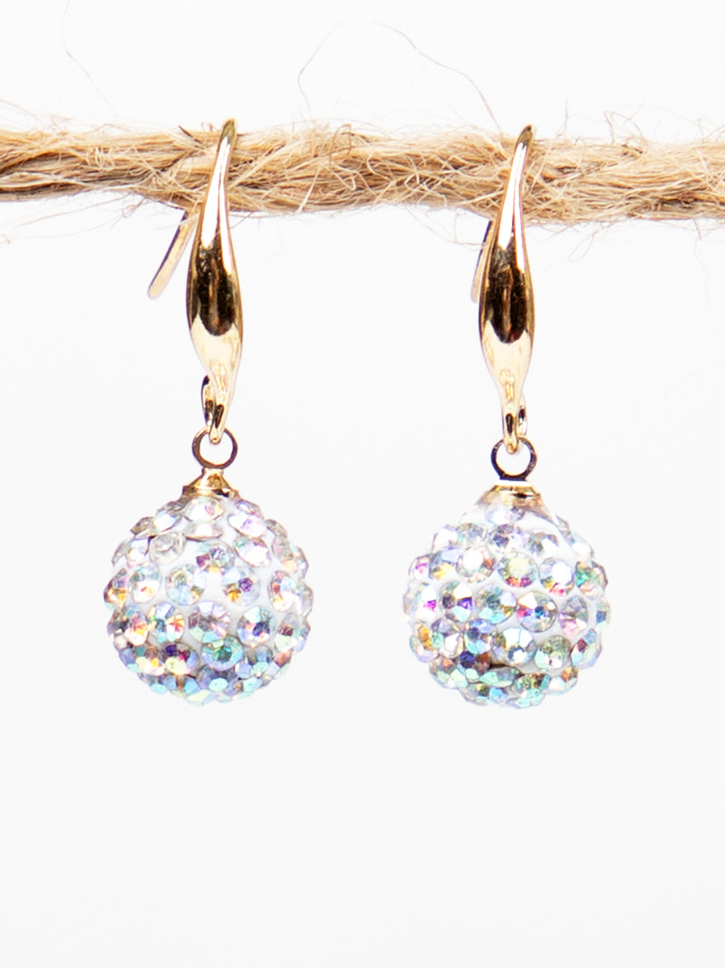 Drop of Glam Earrings, AB