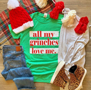 All My Grinches T-Shirt, Green