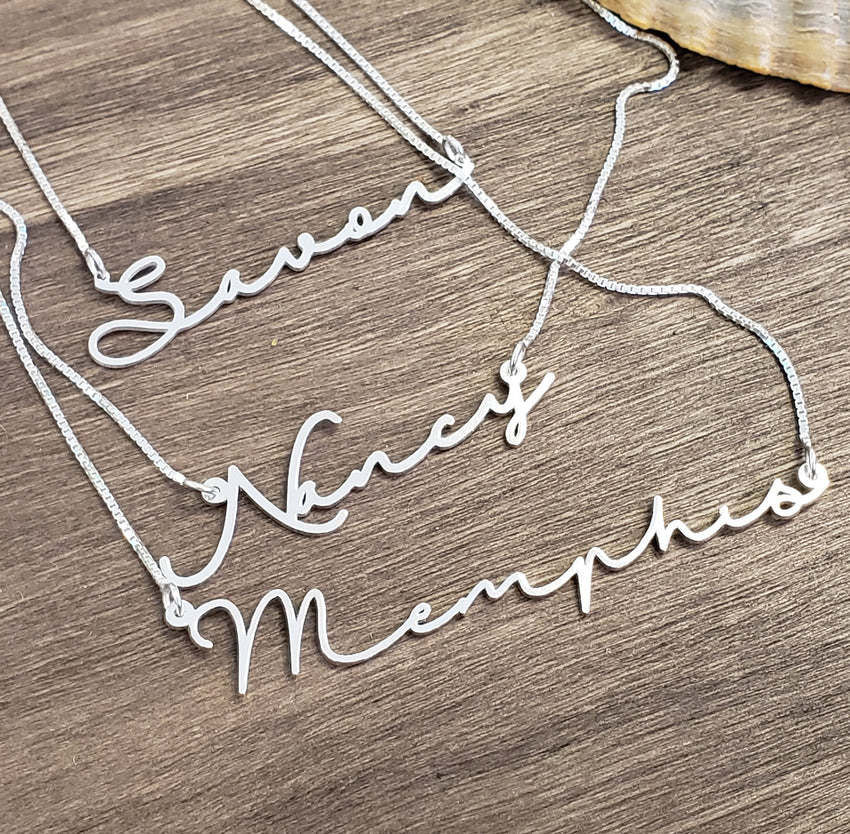"""Jennifer"" Personalized Necklace"