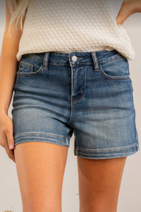 Judy Blue Mid Rise Shorts
