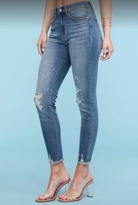 Judy Blue Spring High Waisted Jeans