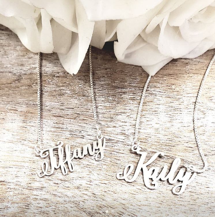 """Keigan"" Personalized Necklace"