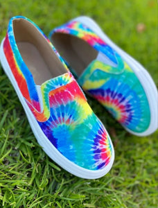 Tie Dye Shoes, Rainbow