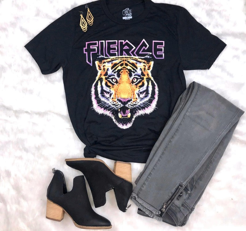 Fierce Tiger T-Shirt