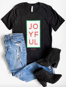 Joyful T-Shirt, Black