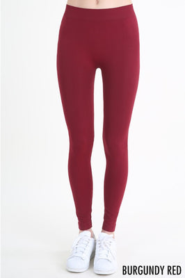 Our Favorite Leggings, Burgundy