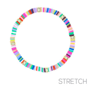 Colorful Disc Bracelet