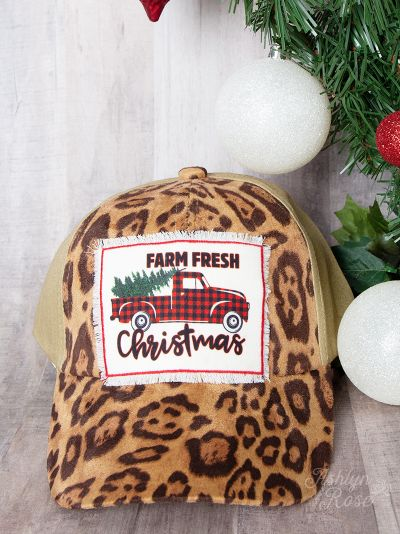 Farm Fresh Leopard Hat