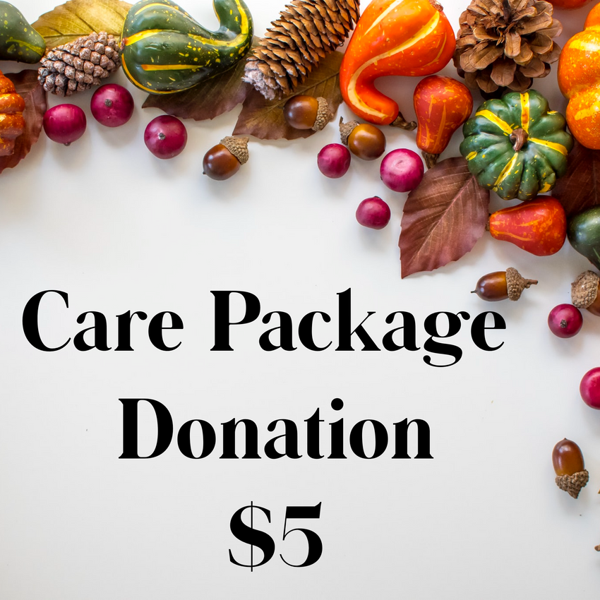Thanksgiving Care Package $5