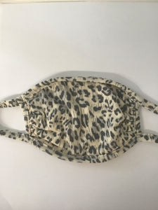 Kids Mask, Distressed Leopard