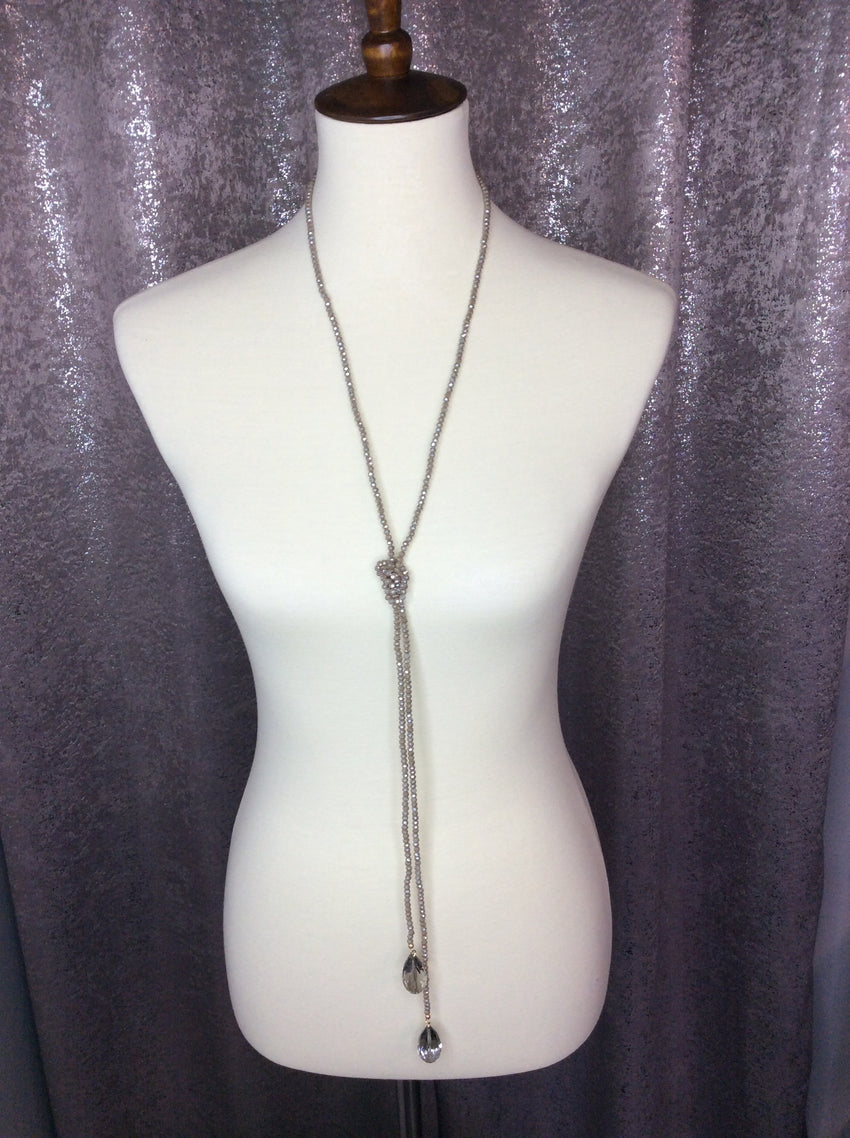 3-in-1 Necklace, Mocha