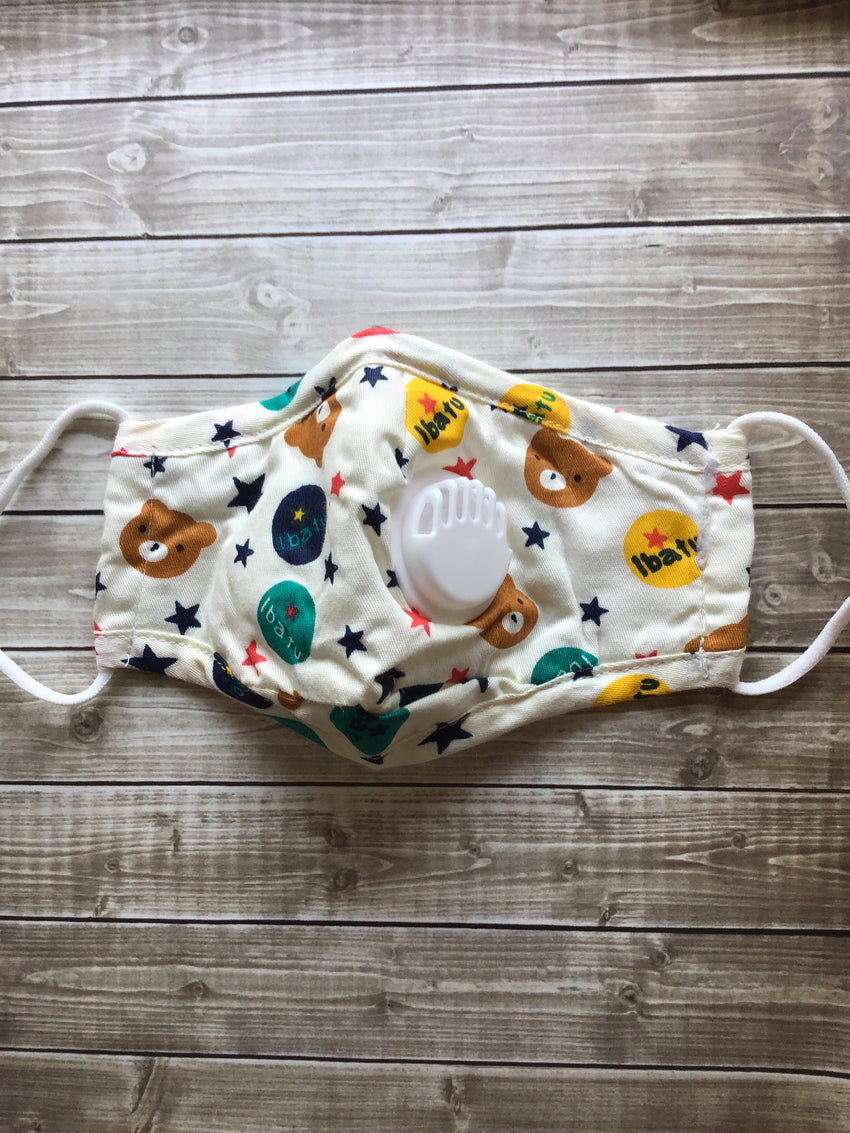 Kids Mask, Bears & Stars