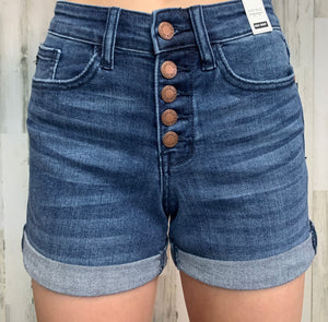 Button Up Judy Blue Shorts