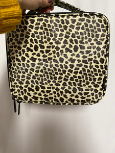 Leopard Make-Up Bag