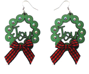 Joy Wreath Earrings