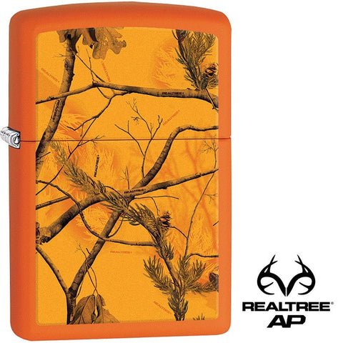Zippo Lighter Realtree Orange