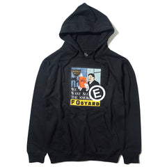 WE WANT ALL THE SMOKES HOODIE SERVICED BY E