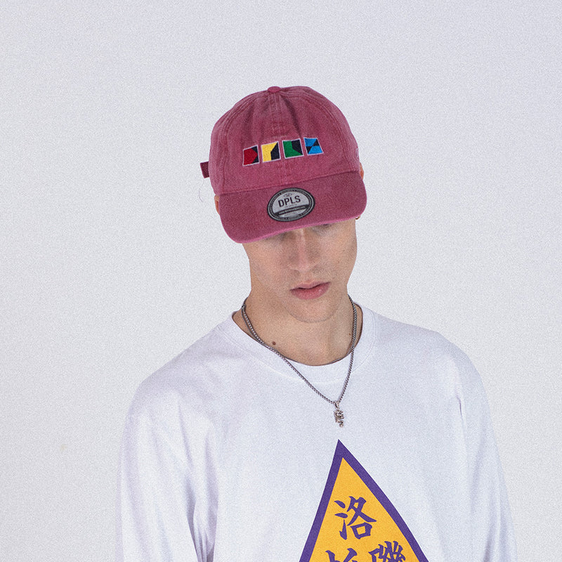 CMYK POLO CAP - RED (1487354593351)
