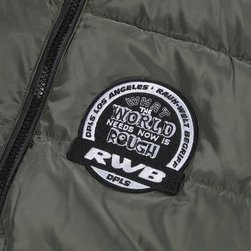 DPLS X RWB REV DOWN JACKET - OLIVE