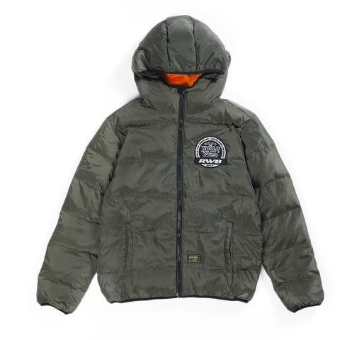 DPLS X RWB REV DOWN JACKET - BLACK