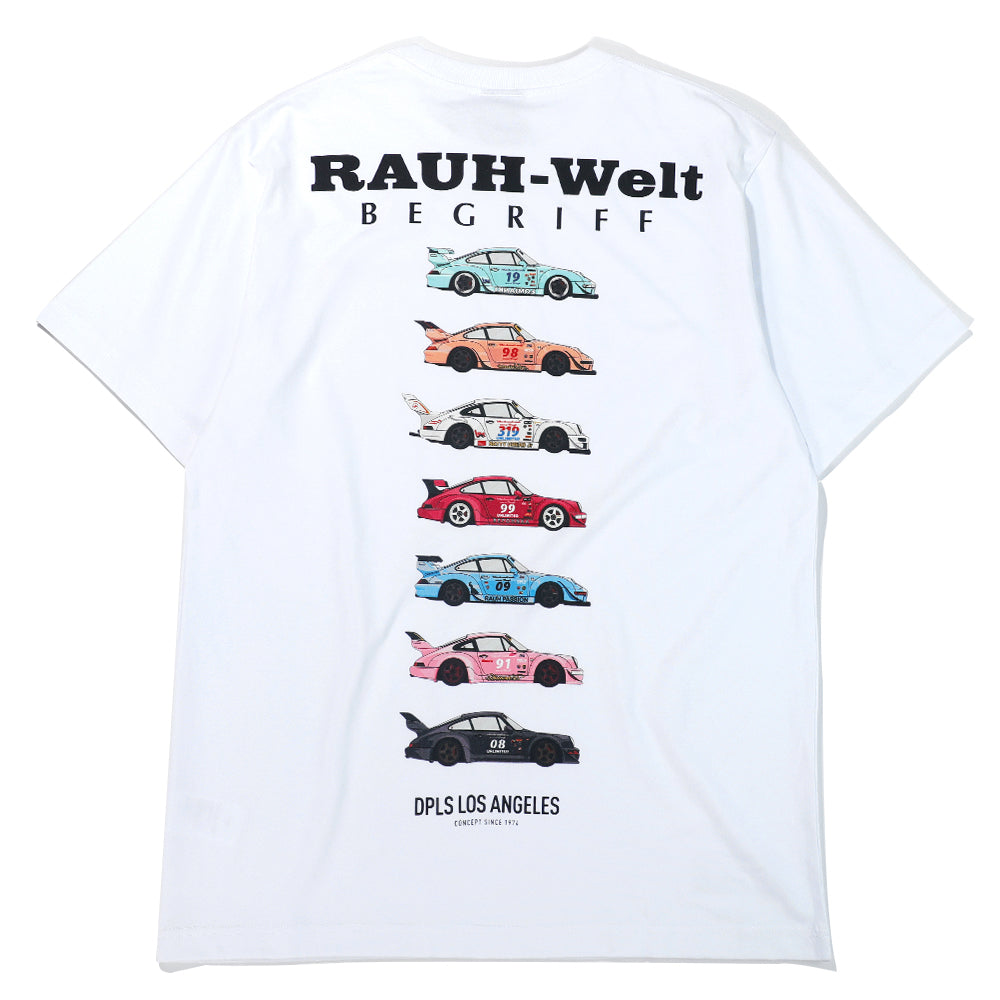 DPLS x RWB TEE (LIMITED EDITION) - WHITE