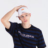 2-TONE SCRIPTED POLO CAP- WHITE (1335176167495)