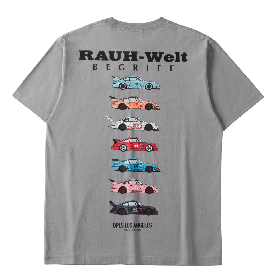 DPLS x RWB TEE (LIMITED EDITION) - GRAY
