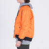 DPLS REV BOMBER JACKET - ORANGE (1487355609159)