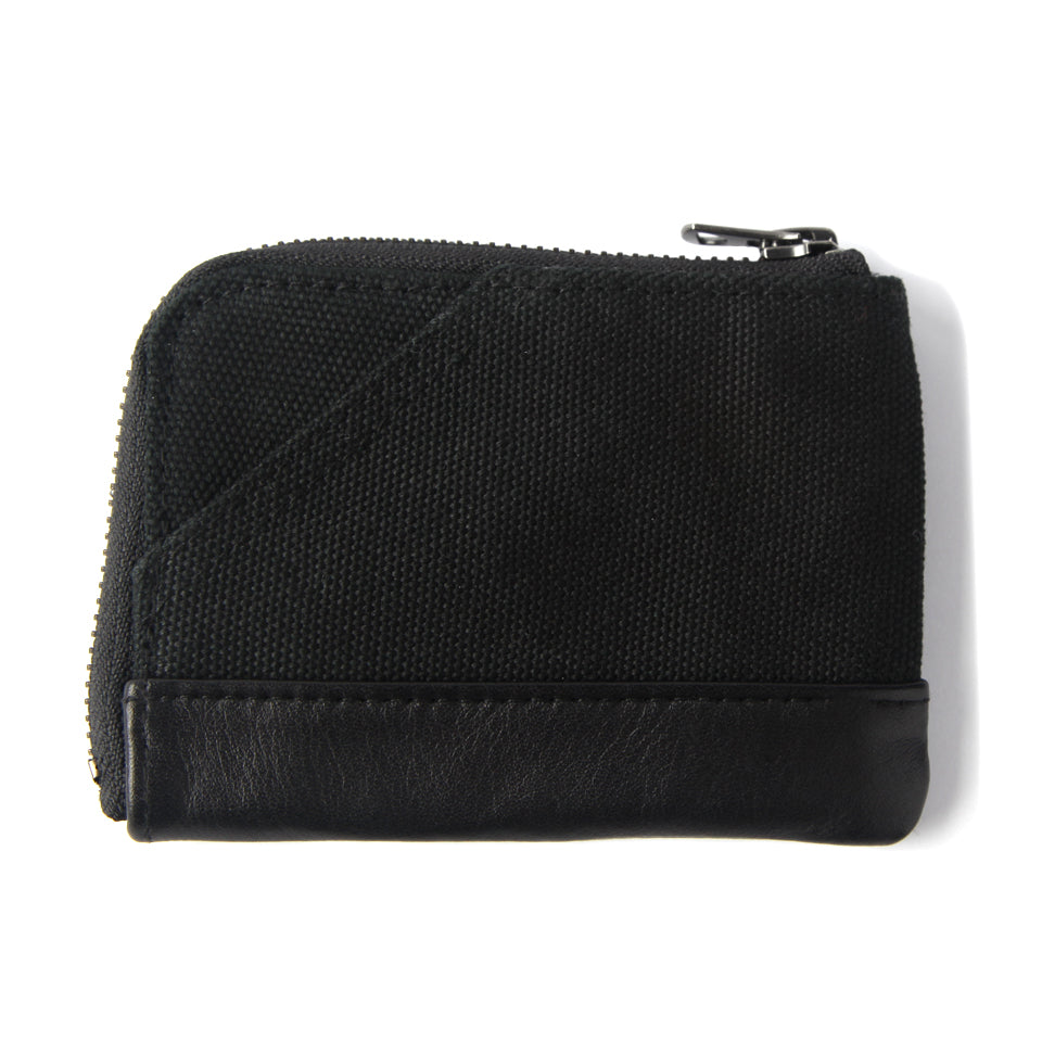 OG LOGO CANVAS WALLET - BLACK