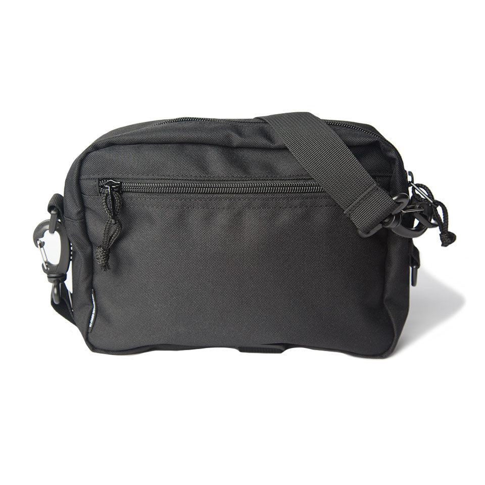 DEEP CROSSBODY BAG - BLACK