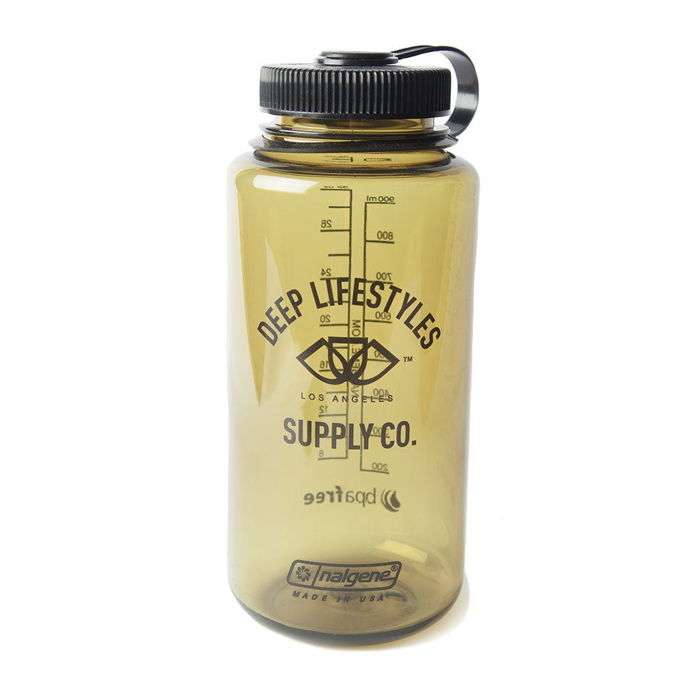 OG LOGO NALGENE WATER BOTTLE - OLIVE