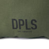 DDD LOGO CUSHION - OLIVE (1472515211335)