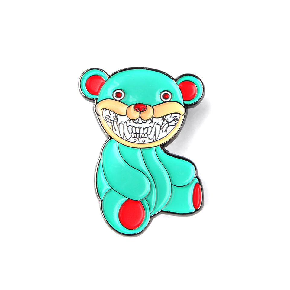 RON ENGLISH BEAR FACE PIN (1339687010375)