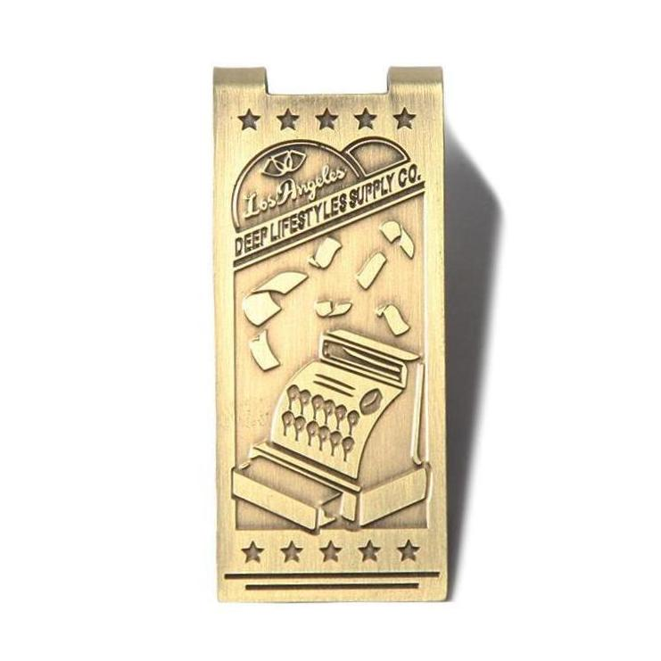 DPLS VINTAGE MONEY CLIP - BRASS (1330496569415)