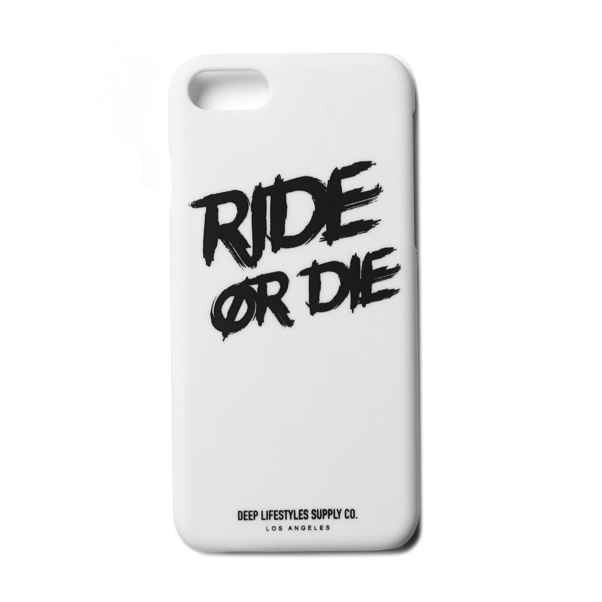 RIDE OR DIE IPHONE 8 CASE