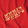 COORDINATES CLASSIC TEE - RED