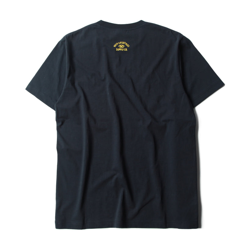 RIGHT HERE RIGHT NOW CLASSIC TEE - NAVY (1305331302471)