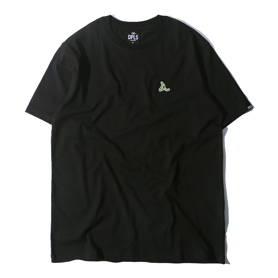 LEAVE THE BANANA TEE - BLACK