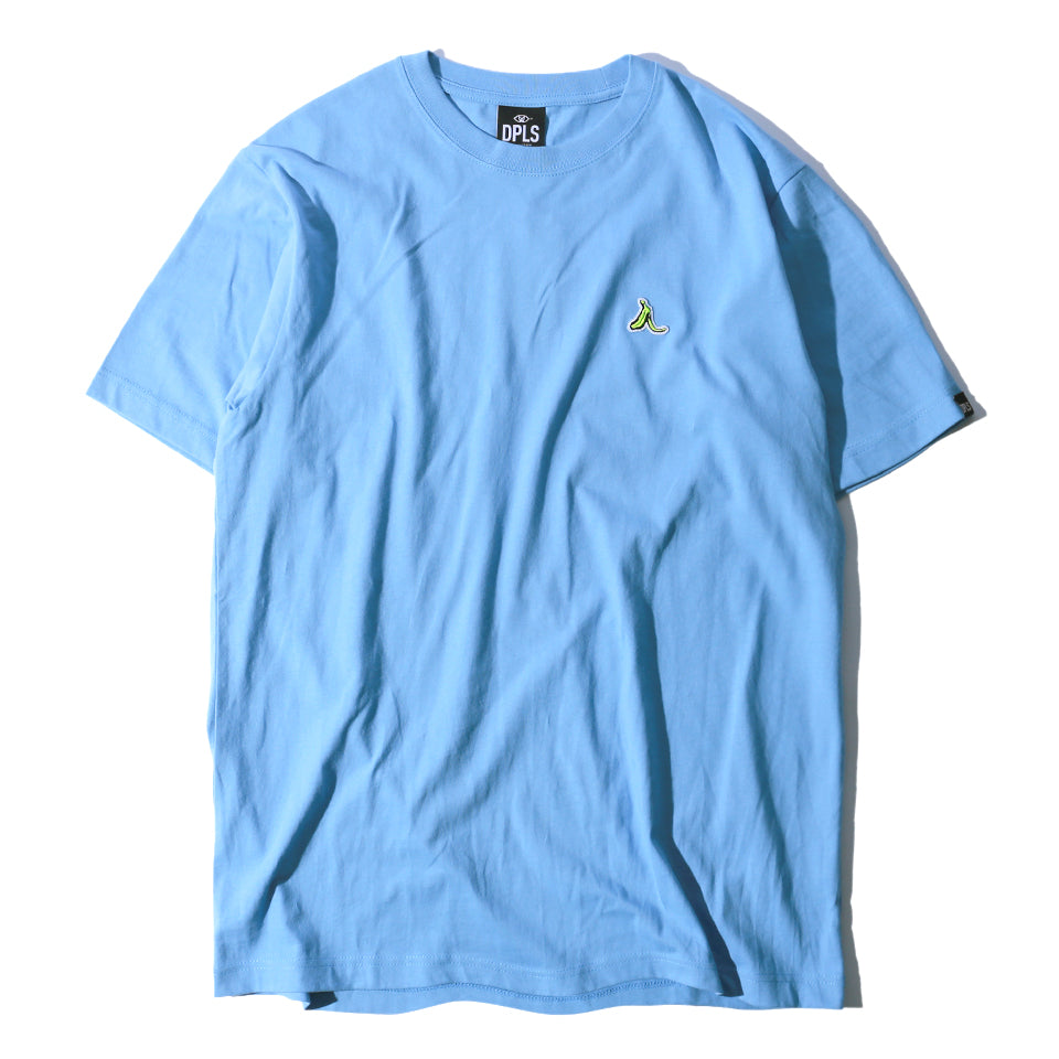 LEAVE THE BANANA TEE - LIGHT BLUE