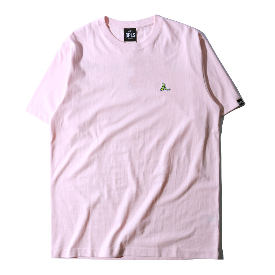 LEAVE THE BANANA TEE - PINK
